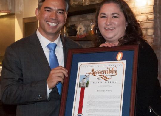 Oakland Rising's & Oakland Rising Action's Jessamyn Sabbag Receives Local Hero Award